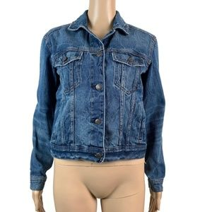 American Eagle Outfitters Button Denim Jacket Jean
